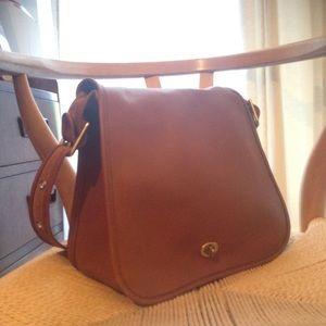 Coach stewardess bag (legacy collection)